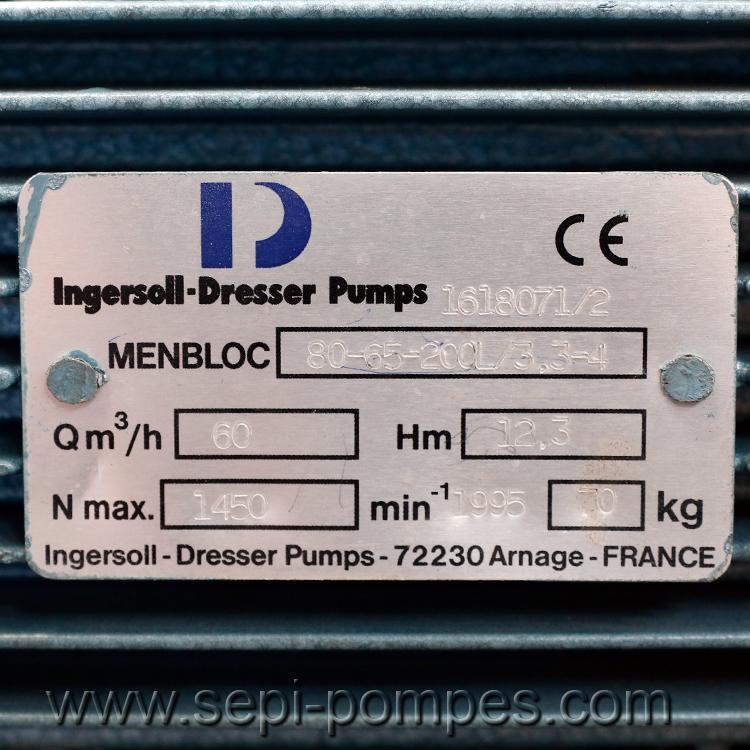 Pompe INGERSOLL DRESSER